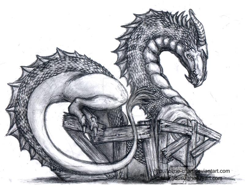 Dragon by Fomle-chan