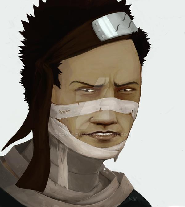 Portrait Of Momochi Zabuza By Fomle-chan On DeviantArt