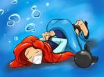 Ariel in distress