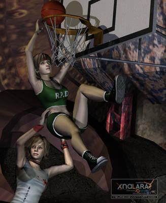Basketball match (Close up) by Ygure