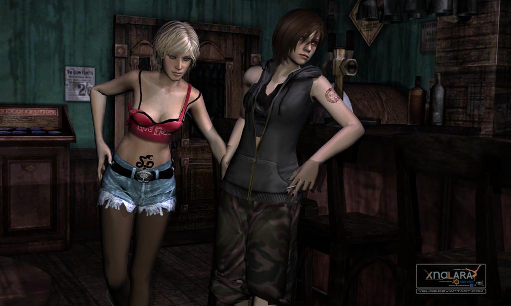 Silent hill shattered memories: rebel girls. By ygure on deviantart.