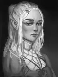 Burdened princess by mongdej
