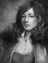 Itrea Portrait by mongdej