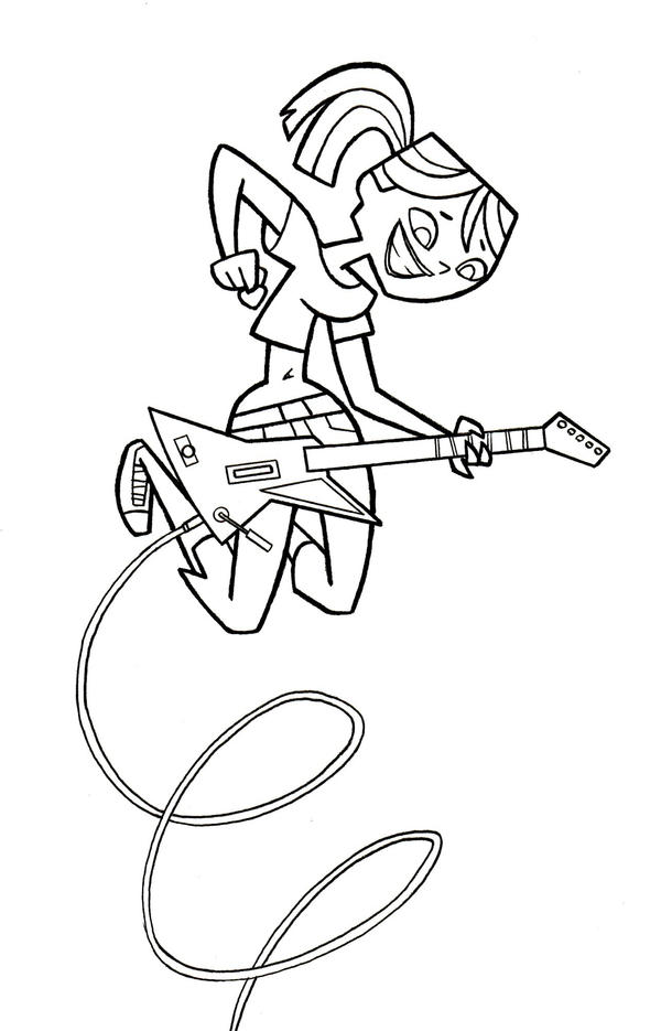 Tdi totaldramafan pencils by tdi exile on deviantart for Total drama coloring pages