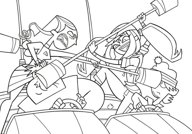 duncan tdi coloring pages - photo#34