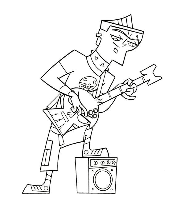 duncan tdi coloring pages - photo#1