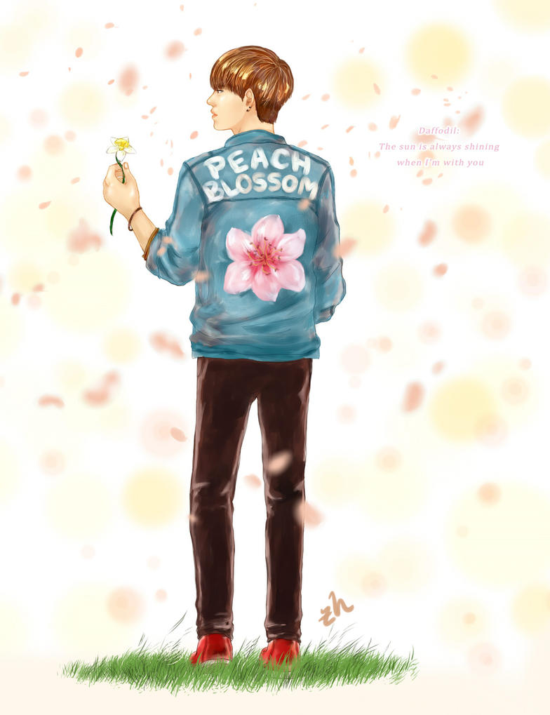 The Flower's Boy by zhaleys