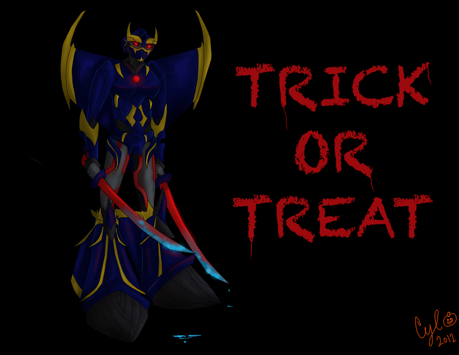 Trick or Treat by Cylinder-the-Autobot