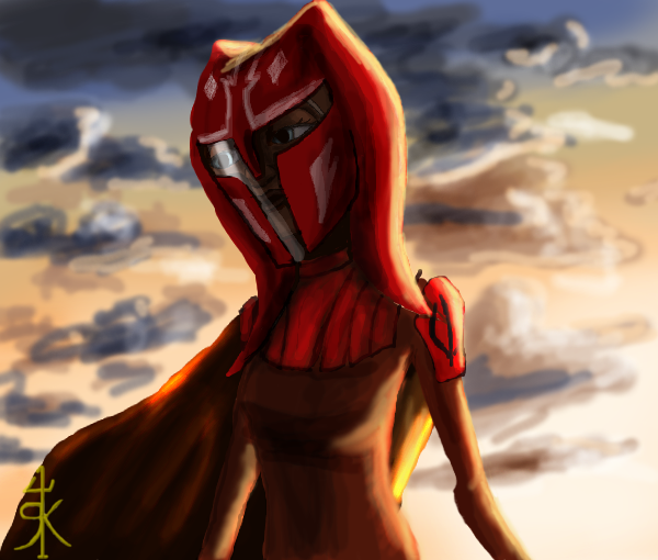 Ahsoka in Armor 4 by RaikohIllust on DeviantArt