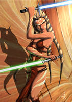 Ahsoka during the Empire by RaikohIllust