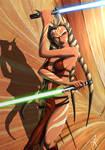Ahsoka during the Empire