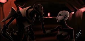 Grievous and Asajj