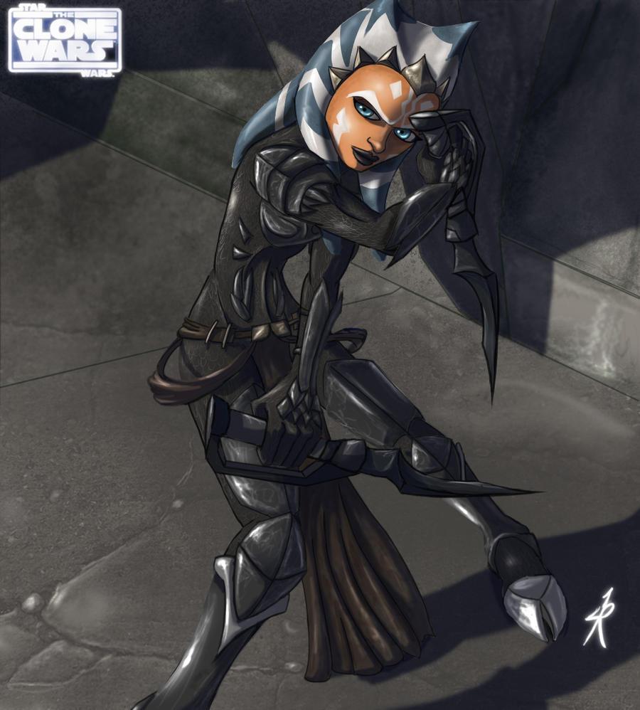 Ahsoka Demon Armor by Raikoh-illust on DeviantArt
