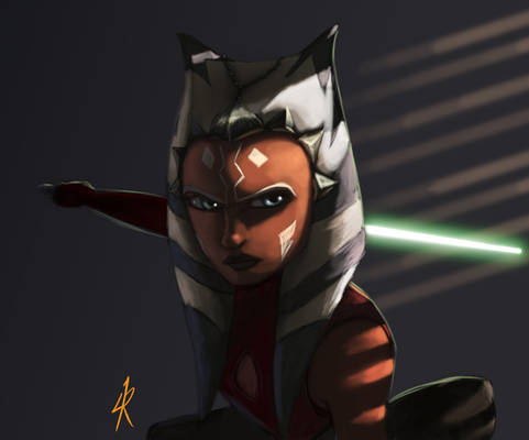 Ahsoka on the prowl