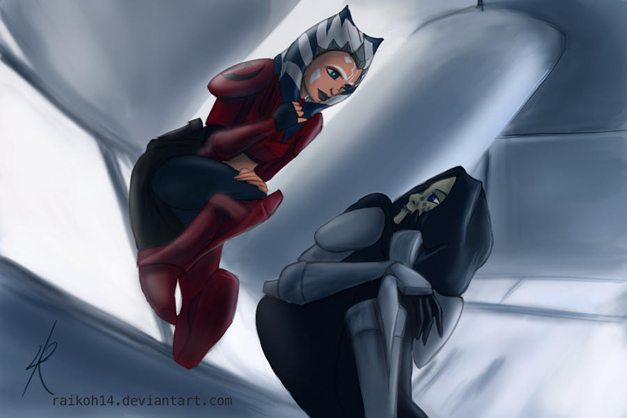 Commanders hanging around by Raikoh-illust