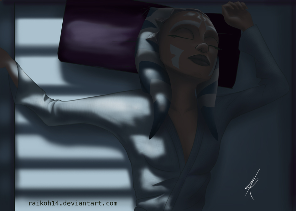 Sleeping by Raikoh-illust