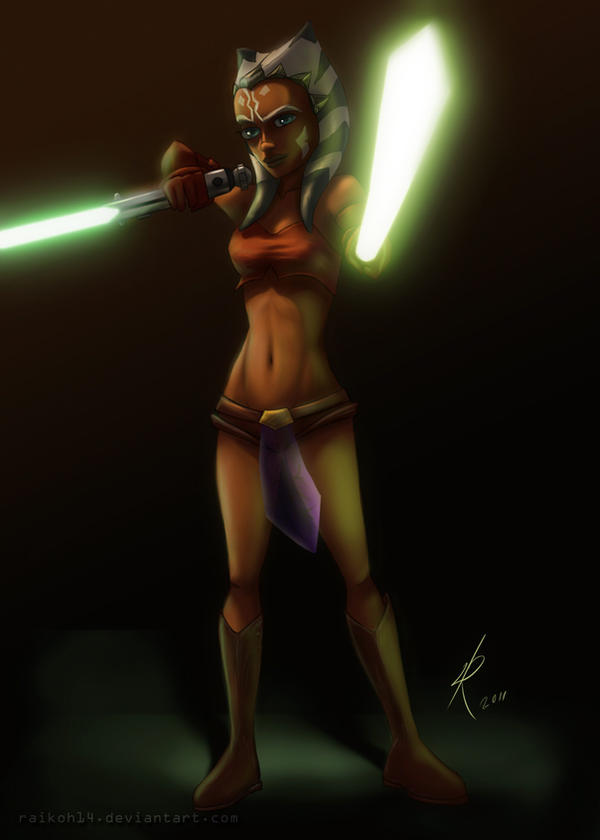 Ahsoka 's alternate outfit by Raikoh-illust