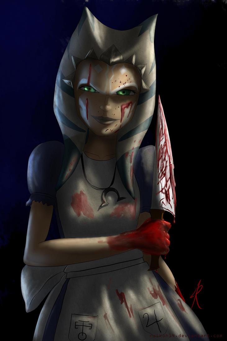 Ahsoka Madness by Raikoh-illust