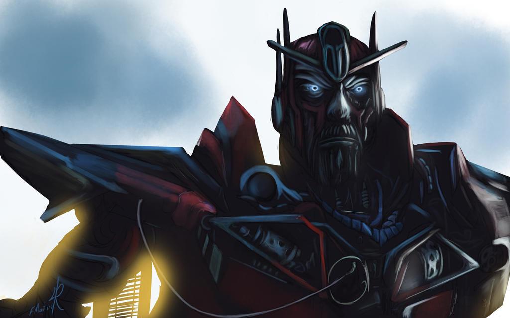 Sentinel Prime by Raikoh-illust
