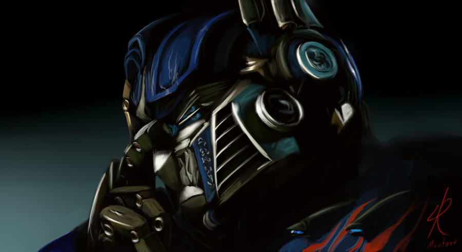 Optimus. by Raikoh-illust