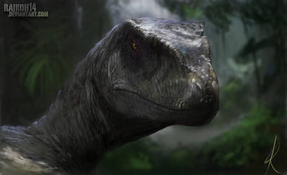 Velociraptor by RaikohIllust