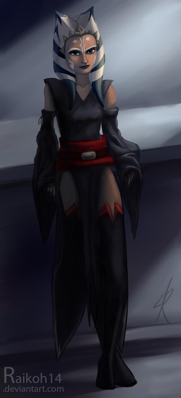 A new outfit for Ahsoka by Raikoh-illust