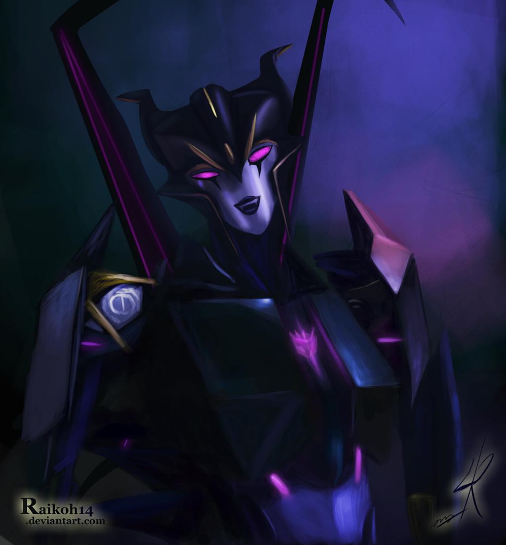 [Pro Art et Fan Art] Artistes à découvrir: Séries Animé Transformers, Films Transformers et non TF - Page 4 Airachnid_by_raikoh14-d497qo9