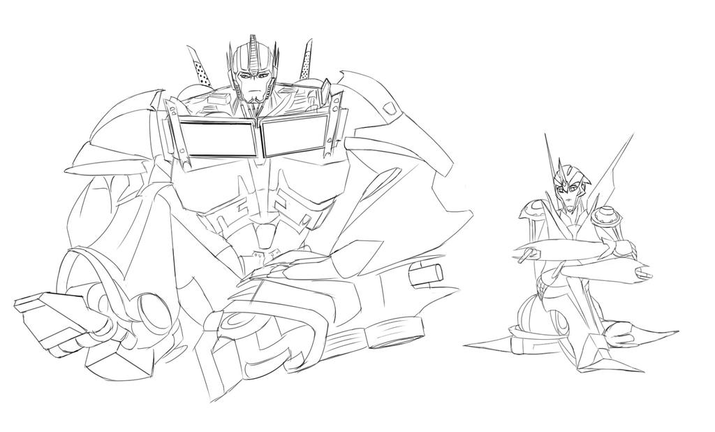 hasbro transformer coloring pages - photo#25