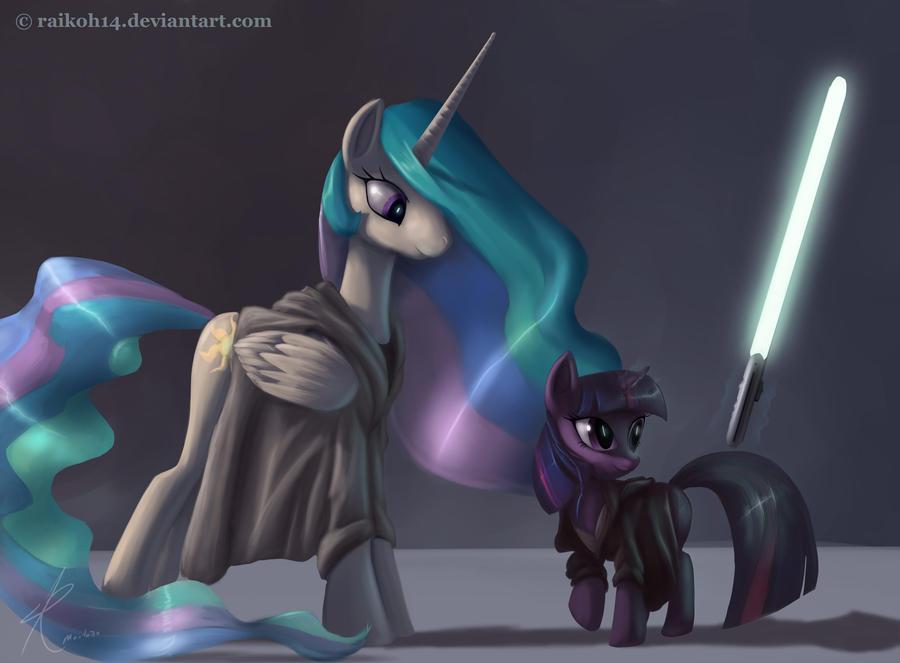 My Little Pony Star Wars by Raikoh-illust