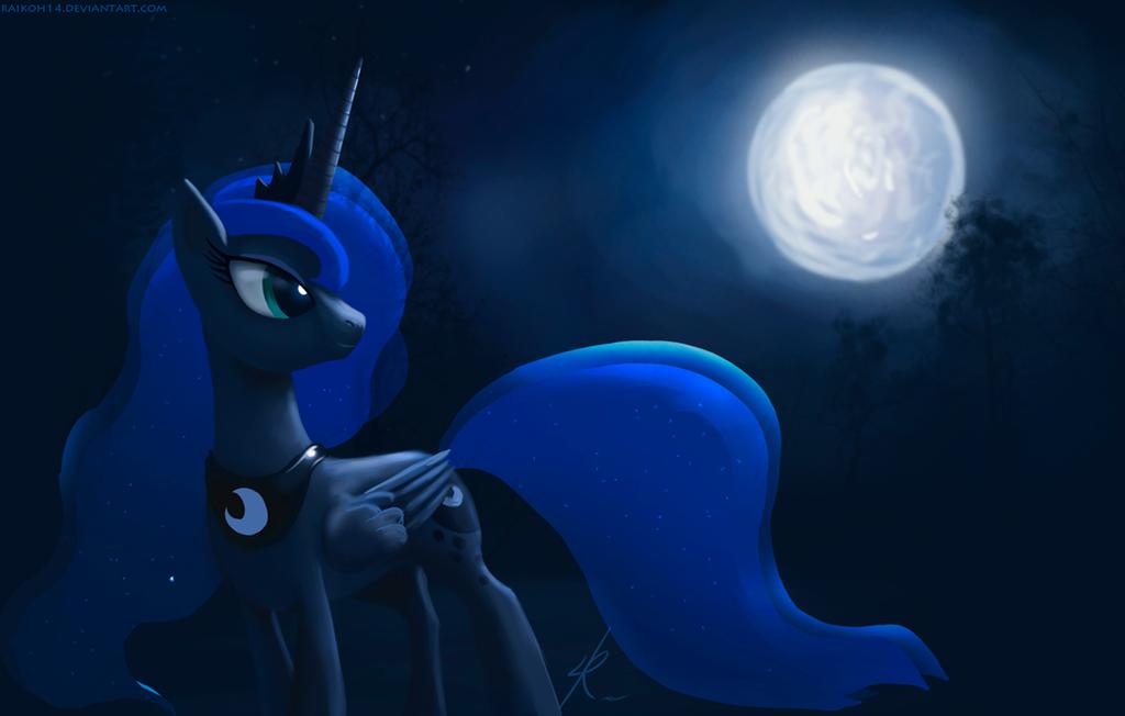 Princess Luna by Raikoh-illust