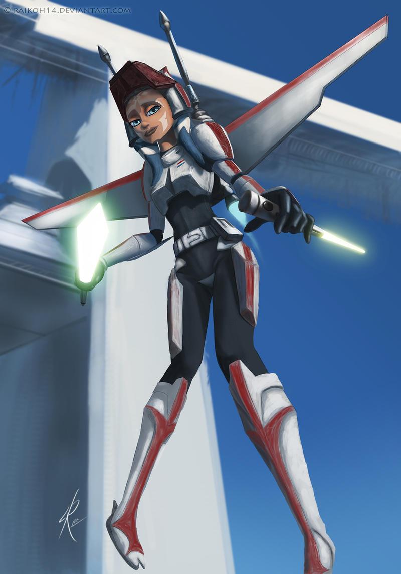Air Commander Ahsoka Tano by Raikoh-illust
