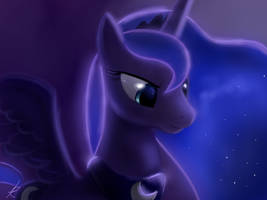 Luna - princess of the night by RaikohIllust