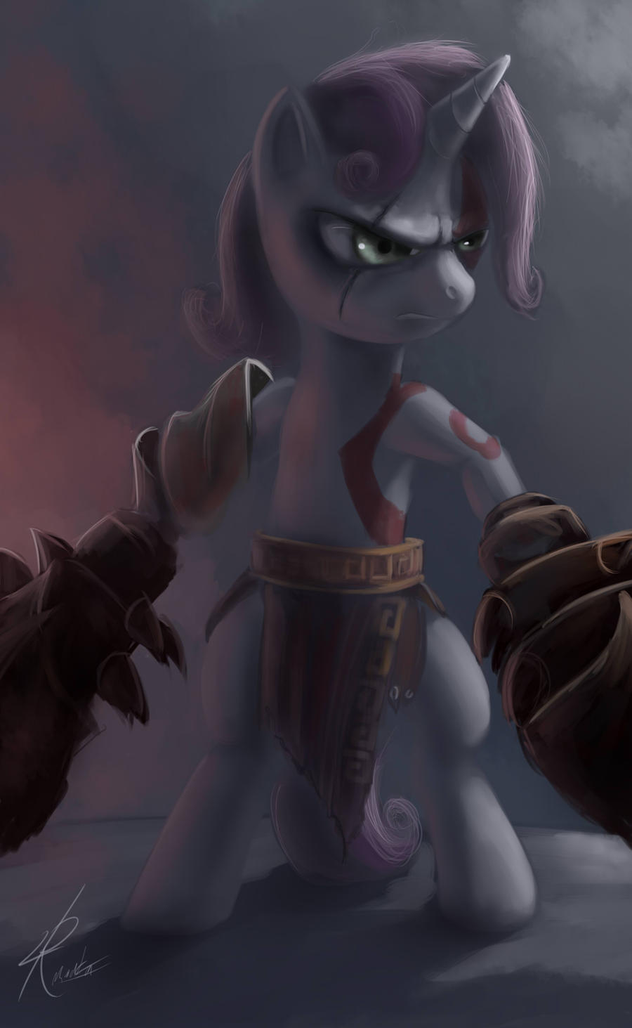 Ghost of Equestria by Raikoh-illust