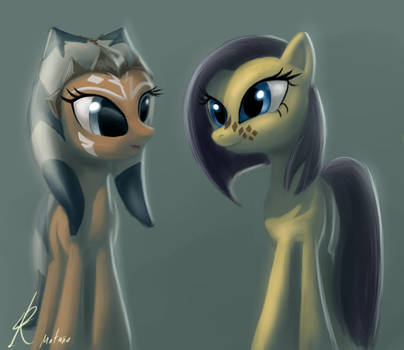 Pony Ahsoka and Barriss