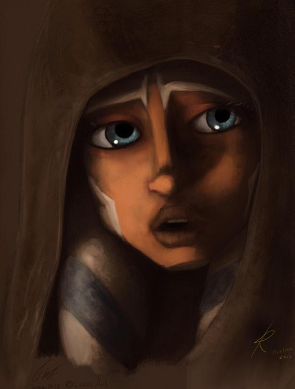 Concerned Ahsoka by Raikoh-illust