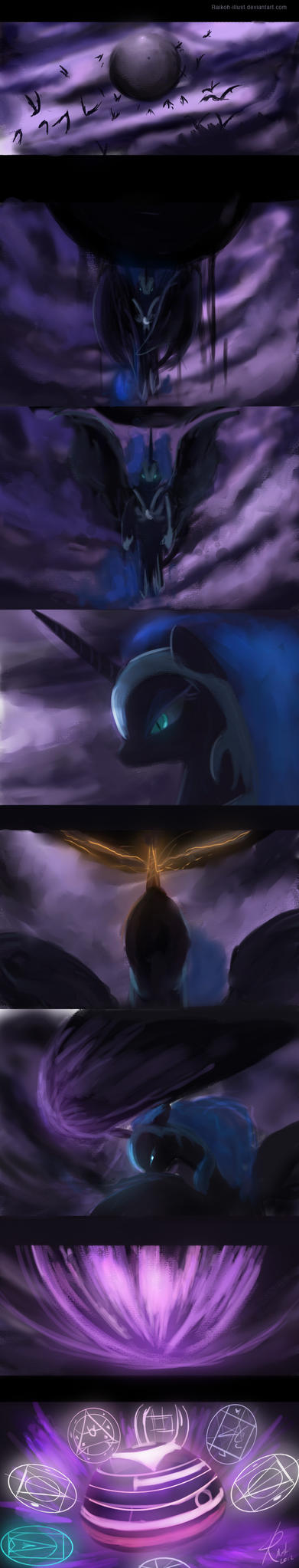Nightmare Moon - Dark Messenger by Raikoh-illust