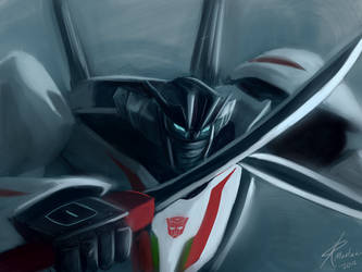 TF Prime Wheeljack by RaikohIllust
