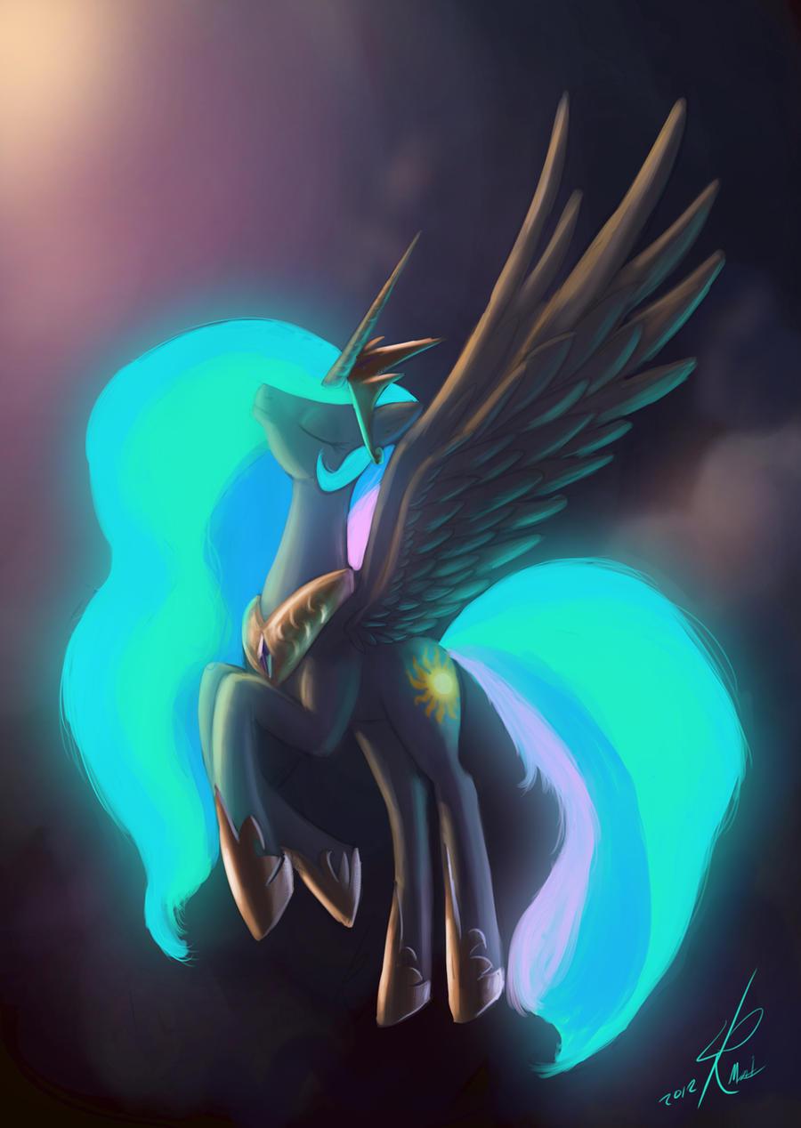 Princess Celestia by Raikoh-illust