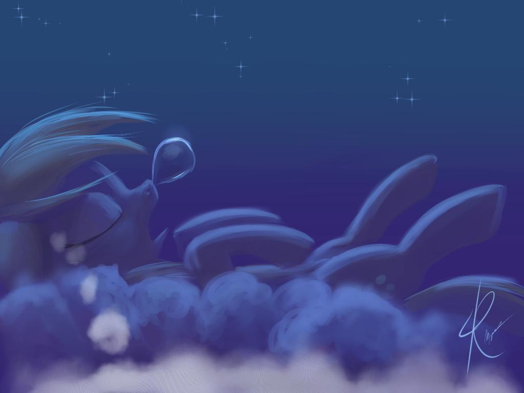 Sleeping Derpy by Raikoh-illust