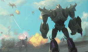 Decepticons Vs Insecticons battle