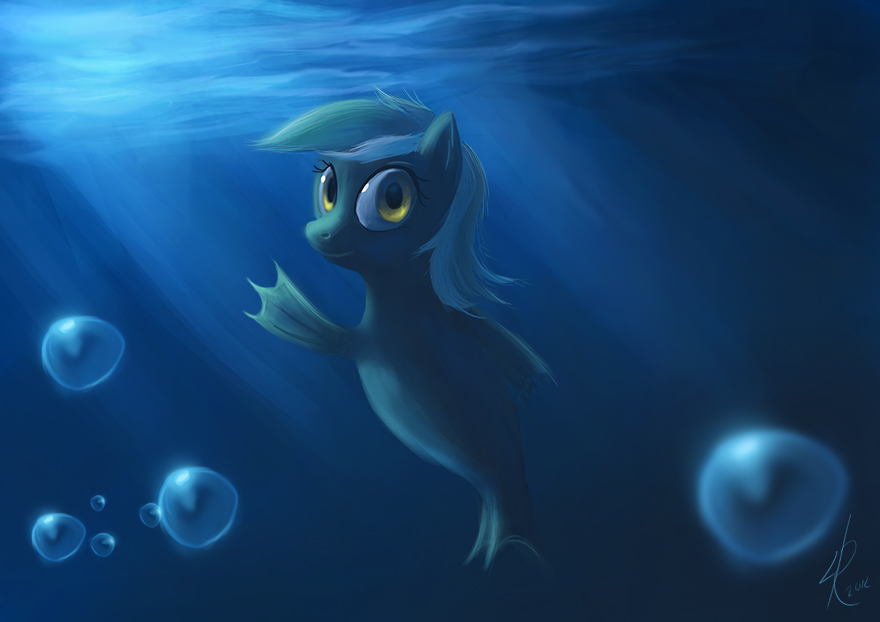 Sea Pony Lyra by Raikoh-illust