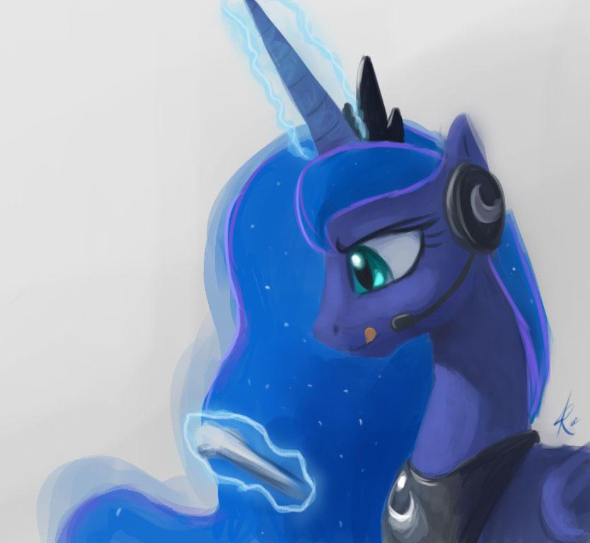 Gamer Luna by Raikoh-illust