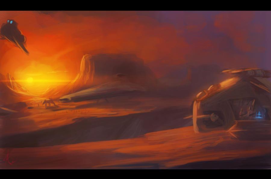 Geonosis by Raikoh-illust