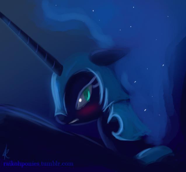 Tsundere Nightmare Moon by Raikoh-illust