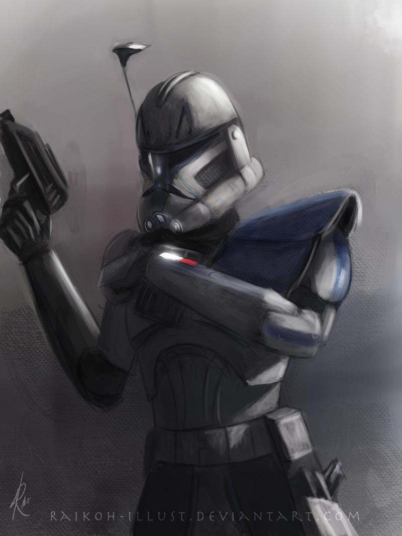 Captain Rex by Raikoh-illust