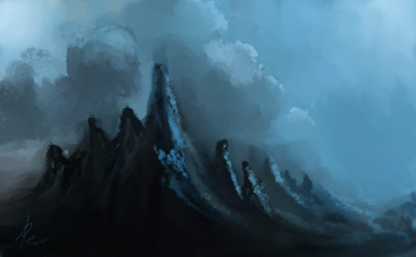 Black Mountains by Raikoh-illust