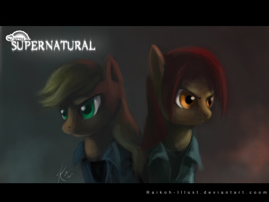My little Supernatural by Raikoh-illust