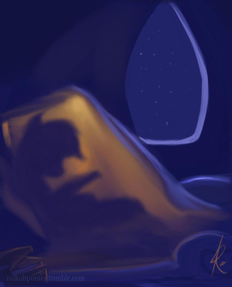 Night Rainbow Dash by Raikoh-illust