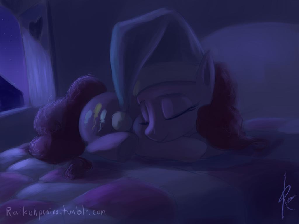 Night Pinkie Pie by Raikoh-illust