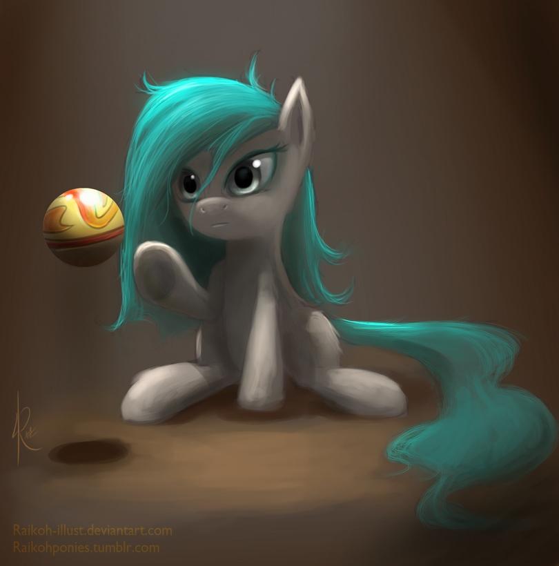 Kinesis - OC Pony by Raikoh-illust